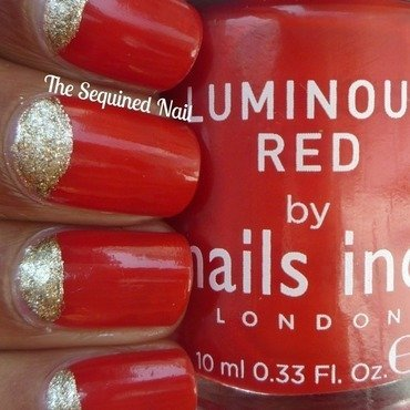 Lacquer Legion - Glam nail art by TheSequinedNail