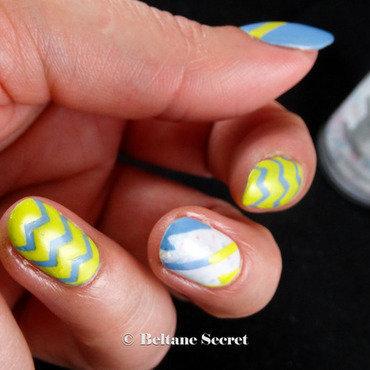 he Picks My Polish challenge nail art by Virginie