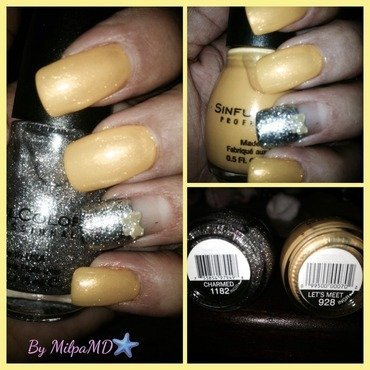 Bow Me Bow  nail art by Milpa  InternNails