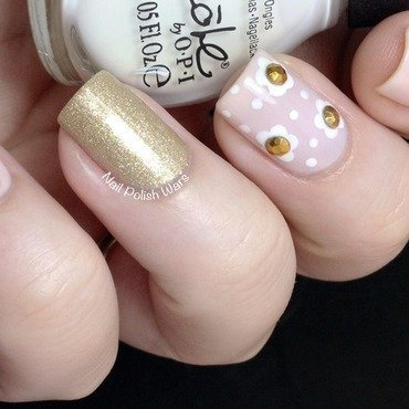 Glam nail art by Nail Polish Wars