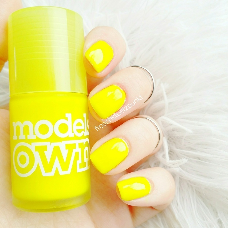 Models Own Luis Lemon Swatch by froschstuetzpunkt