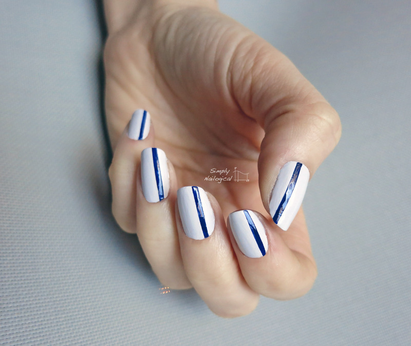 Line it up simple nail art by simplynailogical
