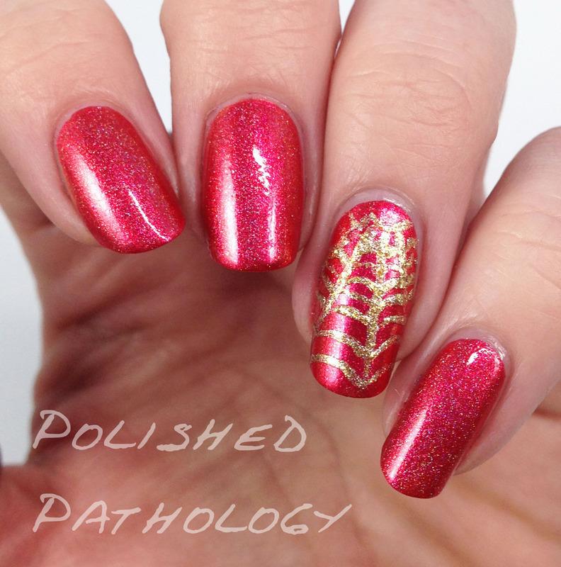 Spidey Sense nail art by J Pathology - Nailpolis: Museum of Nail Art