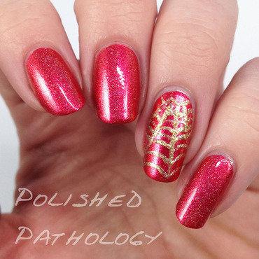 Spidey Sense nail art by J Pathology