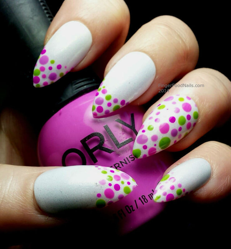 Radiant Orchid Dotticure nail art by Sam