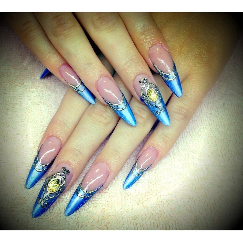 Cinderella Nails: Cinderella Nails Nail Art By Russian Princess