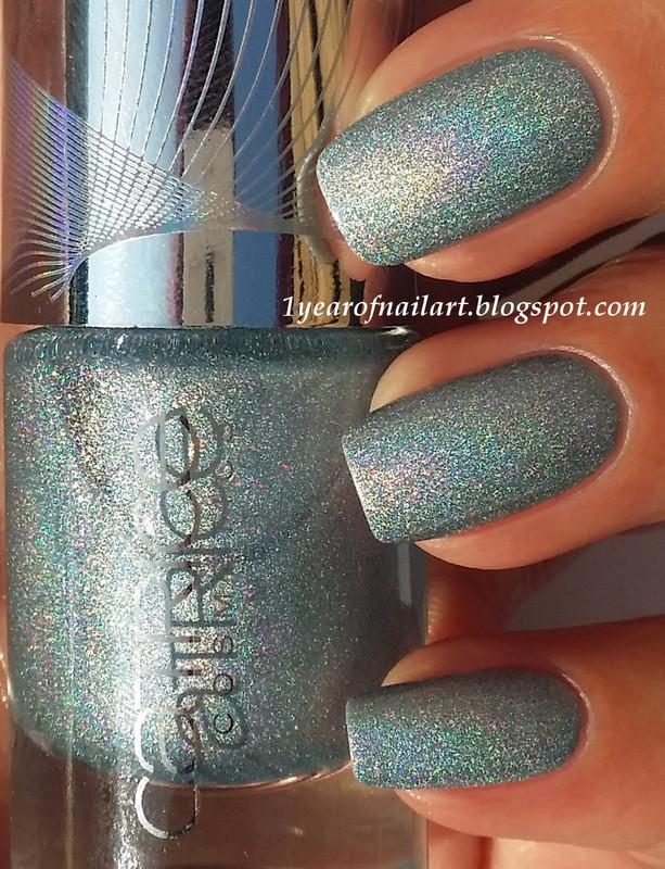 Catrice Limited Edition Haute Future Eletrix Blue Swatch by Margriet Sijperda
