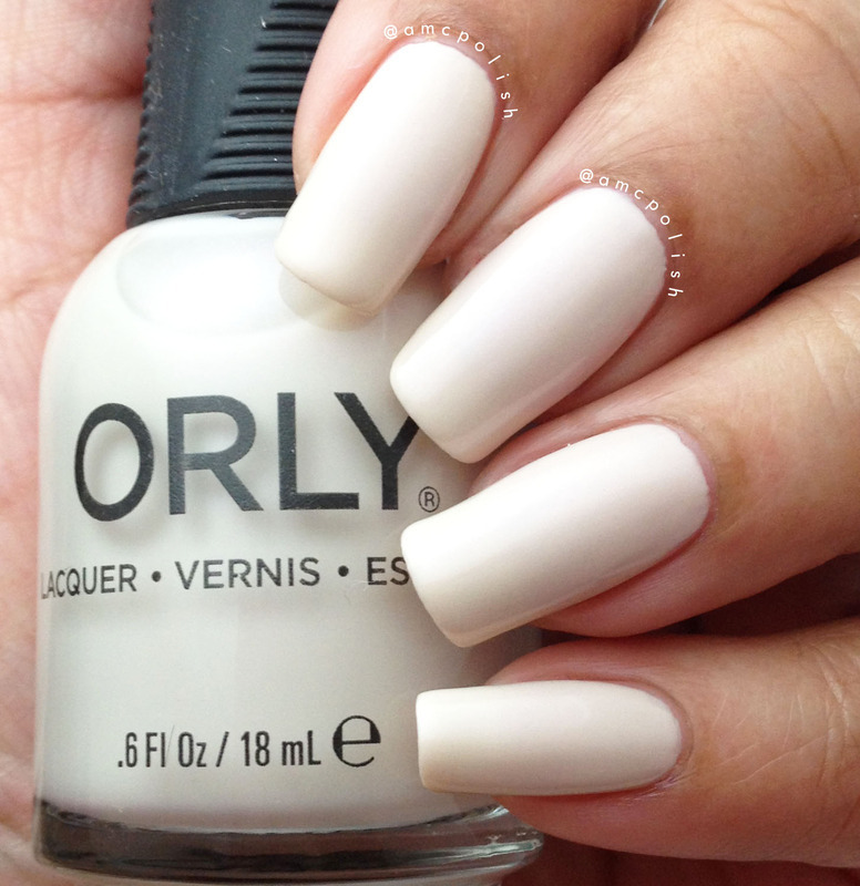 Orly Naked Canvas Swatch by Amber Connor