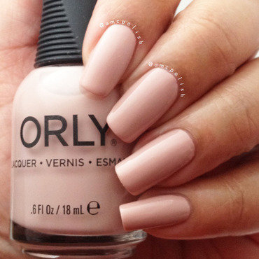 Orly Dare to Bare Swatch by Amber Connor