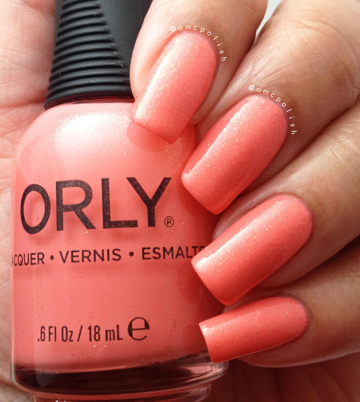 Orly Cheeky Swatch by Amber Connor