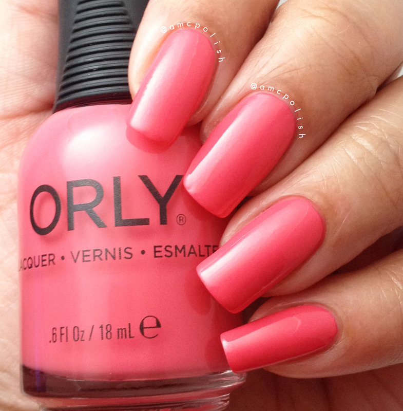 Orly First Blush Swatch by Amber Connor