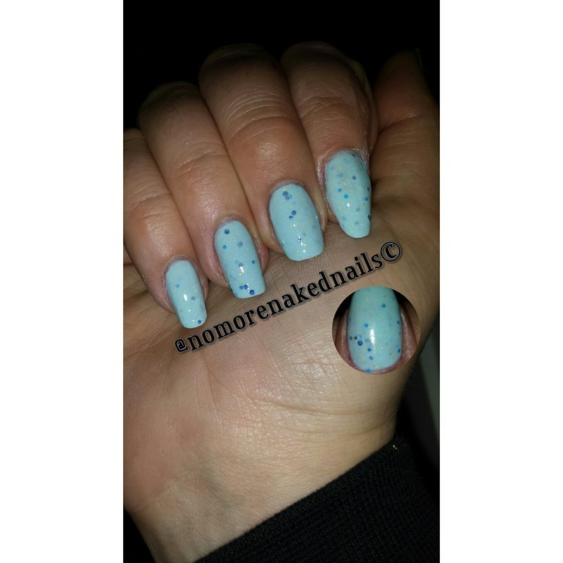 piCture pOlish Geode Swatch by nomorenakednails