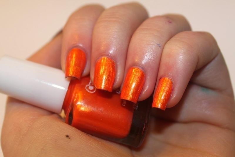 Crayola Orange Swatch by Elizabeth Hemingway