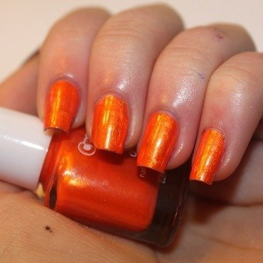 Crayola Orange Swatch by Elizabeth Hemingway