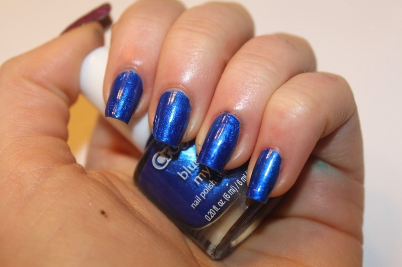 Crayola Blueberry Swatch By Elizabeth Hemingway Nailpolis Museum