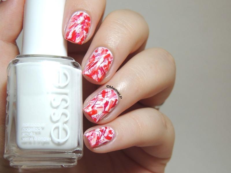 Abstract nails nail art by Marine Loves Polish