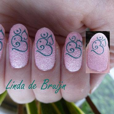 Easy nailart nail art by Linda de Bruijn