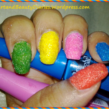 Diy texured summer nails with salt thumb370f