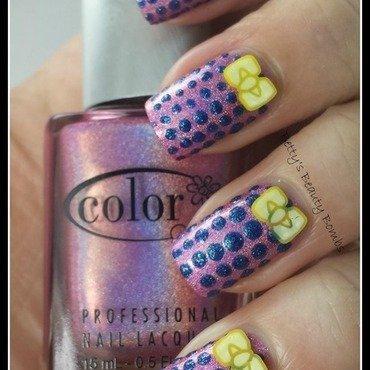 Tri-Polish Challenge nail art by Anne Smith