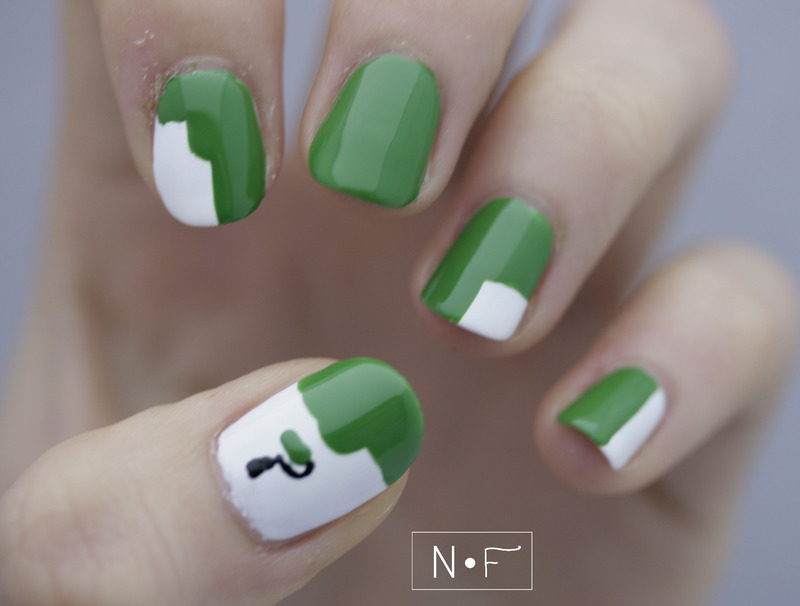 Wall painter nail art by NerdyFleurty