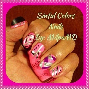 Crossing by  nail art by Milpa  InternNails