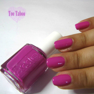 Essie Too Taboo Swatch by OnailArt