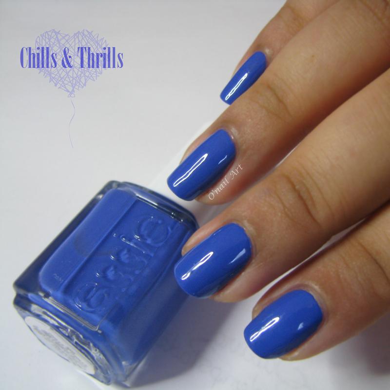 Essie Chills & Thrills Swatch by OnailArt