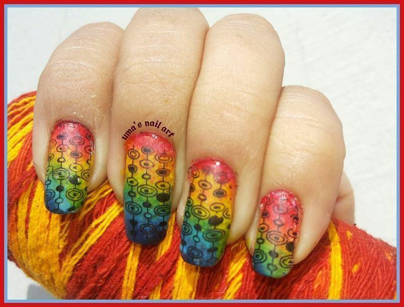 bollywood magic nail art by Uma mathur