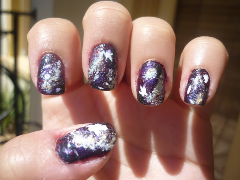 To Infinity And Beyond Galaxy Nails Nail Art By Jessica Anne