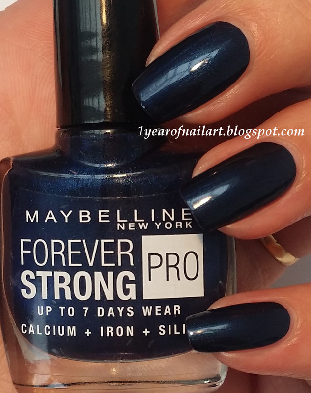 Maybelline Midnight Blue Swatch by Margriet Sijperda - Nailpolis ...