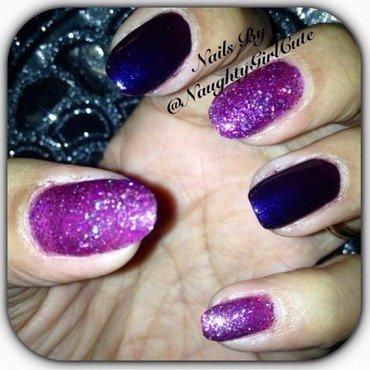Purple Me Day  nail art by Milpa  InternNails