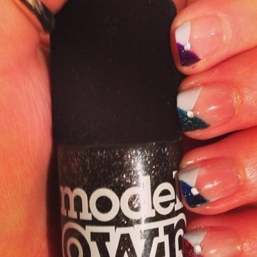 Models Own Velvet Gothic Collection nail art by Kimberley