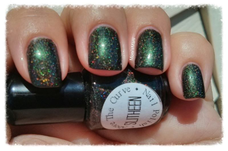 Above the Curve slitheen Swatch by Moni'sMani