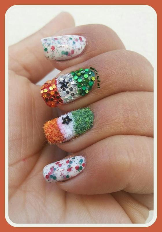 India nail art by Uma mathur