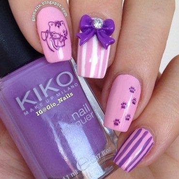 Born Pretty Cuteness nail art by Giovanna - GioNails
