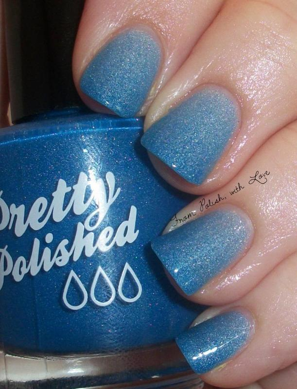 Pretty & Polished Old World Blues Swatch by Dani