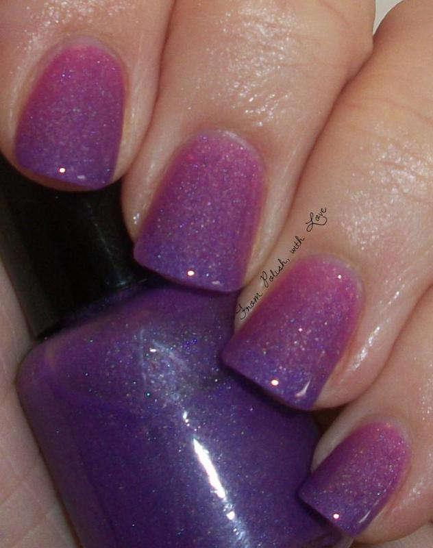 Pretty & Polished My Friend Dahlia Swatch by Dani