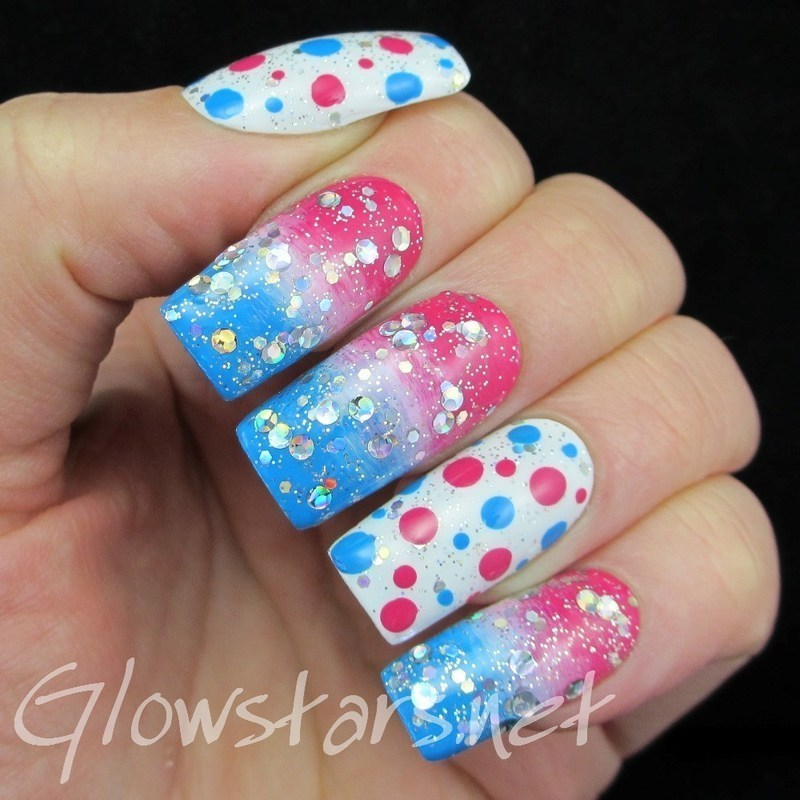 When he needs an alibi he can use me all night nail art by Vic 'Glowstars' Pires
