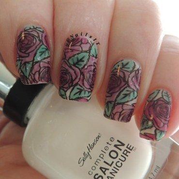 Roses nail art by NailsIT