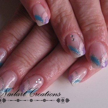 Pastel Stones Nailart nail art by Nailart Creations
