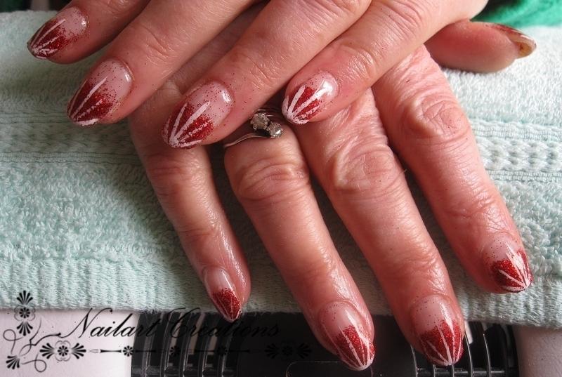 Burst Out nailart! nail art by Nailart Creations