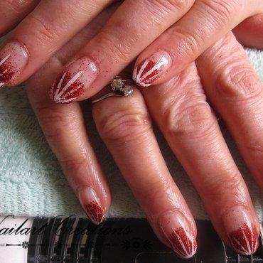 Burst Out nailart! nail art by Nailart Creations