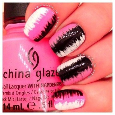 Neon and black china galze thumb370f
