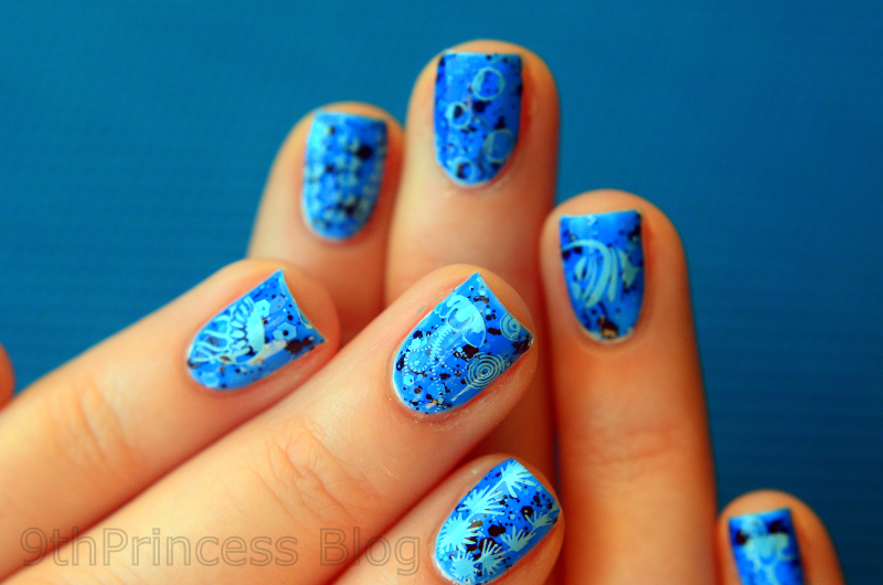 Sea My Nails nail art by 9th Princess