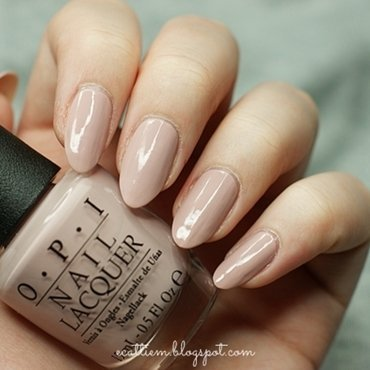 OPI My Very First Knockwurst Swatch by ecattiem