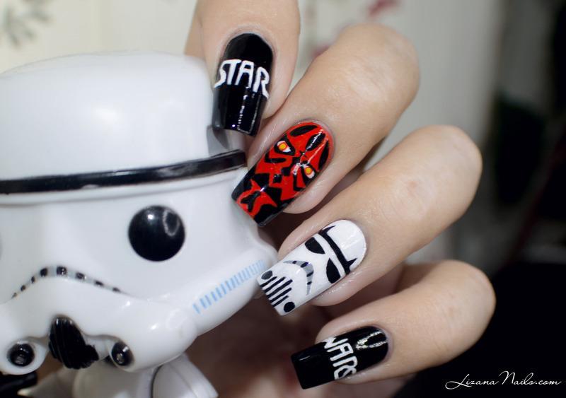 Nail Art Star Wars nail art by Lizana Nails - Nail Art Star Wars Nail Art By Lizana Nails - Nailpolis: Museum Of