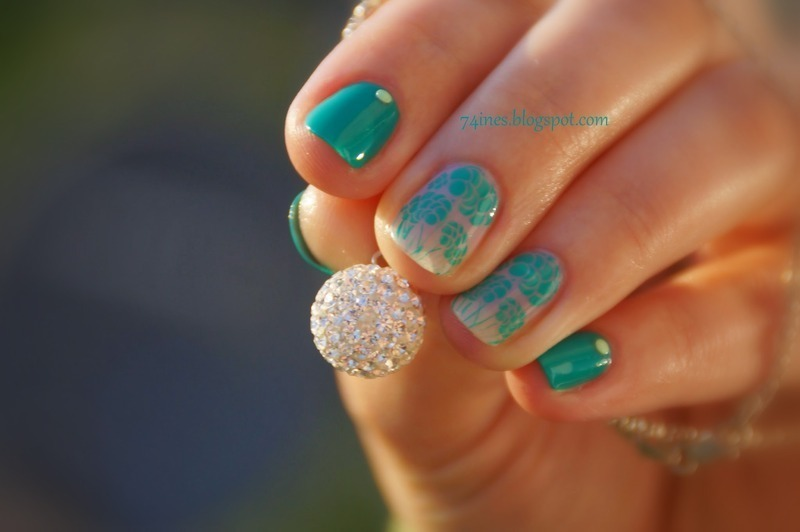 Beautiful Day nail art by 74ines