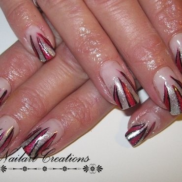 Fire nailart! nail art by Nailart Creations