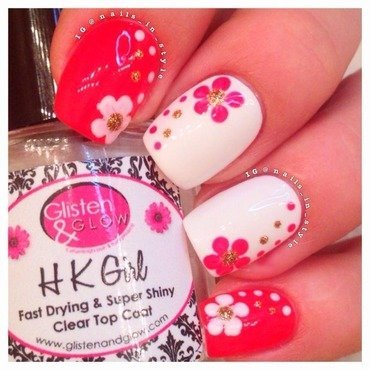 Aloha, Mom nail art by Nails_In_Style