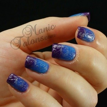 Thermal on Thermal nail art by ManicTalons
